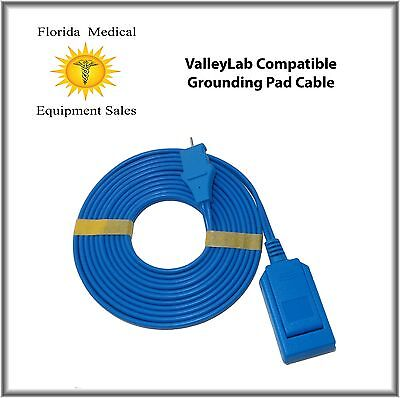 ValleyLab Compatible Grounding Pad Cable