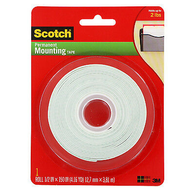 3M Scotch Craft Mounting & Rubber Stamping Tape 1/2 in x 150 in