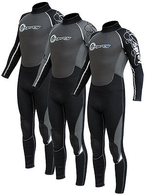 "Mens OSPREY OSX Full Length Wetsuit 38-39"" Chest Surfing Kayaking Sailing Diving"