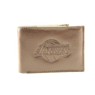Golden State Warriors Brown Leather Tri-fold Wallet