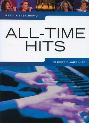 Really Easy Piano All Time Hits 19 Best Chart Hits Sheet Music Book Songbook