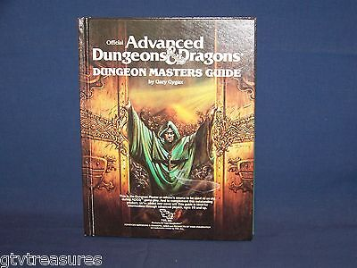 1979 Official TSR Advanced Dungeons & Dragons Dungeon Master Guide 2011