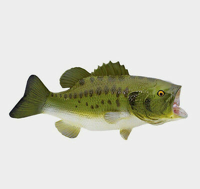 LARGEMOUTH BASS Replica ~ Scale 1:4  #265629  FREE SHIP/USA w$25 +SAFARI Product