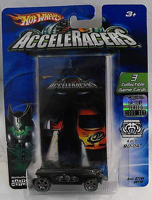 2005 Hot Wheels Acceleracers Racing Drones Rd-04 4/9 From Factory Set