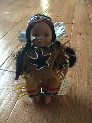 Show Stoppers Little Indian Collectible Porcelain Doll
