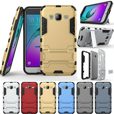 Shockproof Rugged Hybrid Rubber Case Armor Cover For  Samsung Galaxy On5 / G5500
