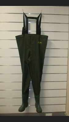 Delux Fishing Waders Mixed Sizes + Knee pads + Int lining + FREE Headtorch