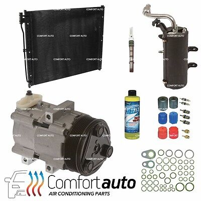 JOHN DEERE TRACTOR AC A/C Compressor With Clutch Replaces:Denso