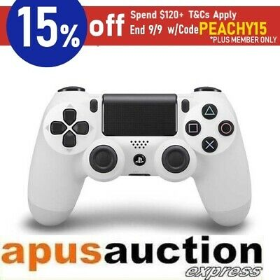 Genuine Sony PS4 Dualshock 4 Wireless Controller Playstation 4 White Official