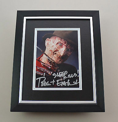 Robert Englund Signed 10x8 Photo Framed Freddy Krueger Autograph Display + COA