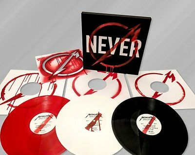 Metallica - Through the Never (2013)  Red, White & Black Vinyl 3LP Box Set  NEW