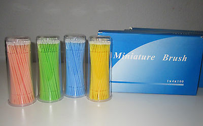 Dental Disposable Micro Applicator Bursh - Fine size 100pcs