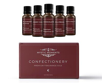 Mystic Moments Fragrant Oil Starter Pack - Confectionery 5 x 10ml (SP10FOCONF)
