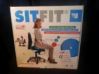 Sissel Sitfit Dynamic Sitting Core Workout Balance blue New w Instructions & box