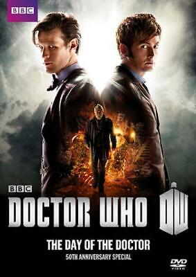 Doctor Who: The Day Of The Doctor New Region 1 Dvd