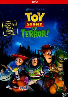 Toy Story Of Terror! New Region 1 Dvd