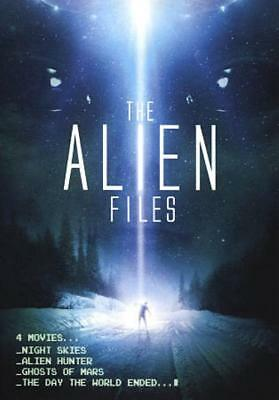 The Alien Files: 4 Out-Of-This-World Movies New Region 1 Dvd