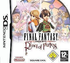 NINTENDO DS FINAL FANTASY RING OF FATES CRYSTAL CHRONICLES Sehr guter Zustand