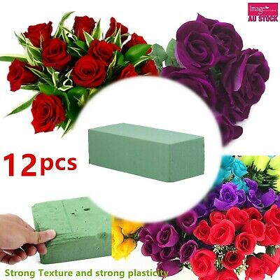 12x Wet Floral Foam Brick Block Type Green Flower Decoration 22.5x10.5x7cm YW