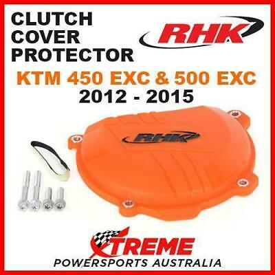 Rhk Mx Factory Orange Clutch Cover Protector Guard Ktm 450 500 Exc 2012-2015