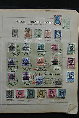 Lot 25471 Collection stamps of Poland 1918-1936.