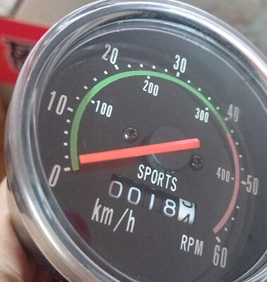 Retro Vintage Analog Mechanical Mountain Road Bicycle Speedometer Wired Odometer