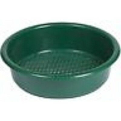 845460 Green Garden Soil & Stone Sieve / Riddle 35cm Diameter