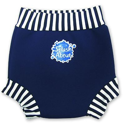 Splash About Happy Nappy - Navy/White - Small - XXL