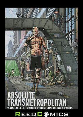ABSOLUTE TRANSMETROPOLITAN VOLUME 2 HARDCOVER New Hardback Collect Issues #19-36