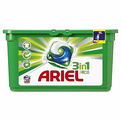 Ariel 3 in 1 Pods Regular Liquitabs 114 Washing Capsules - Pack of 3