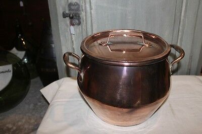 COPPER POT FROM BOURGEOIS KITCHEN - early 19th - P195