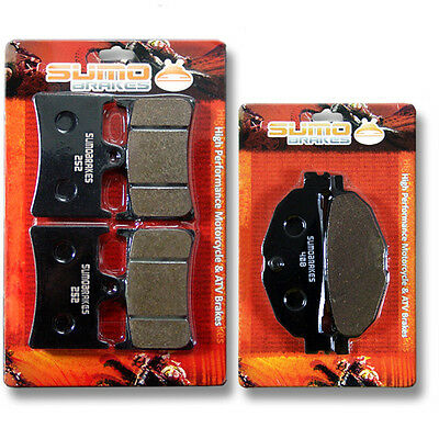 Yamaha Front + Rear High Performance Brake Pads XP 500 T-Max (2009-2010-2011)