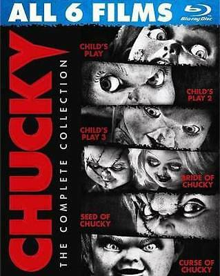 Chucky: The Complete Collection New Region 1 Blu-Ray