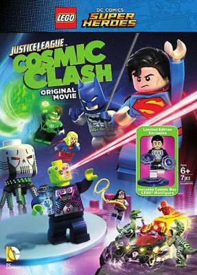Lego Dc Comics Super Heroes: Justice League - Cosmic Clash New Region 1 Dvd