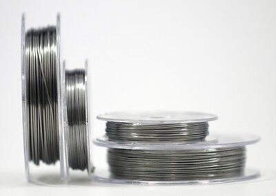 Kanthal Ribbon Resistance Flat Coil wire 0.3 X 0.1mm - 0.5 X 0.1mm - 0.8 X 0.1mm