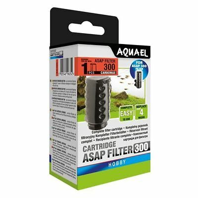 Aquael ASAP 300 Filter Cartridge with Carbomax Aquarium Media