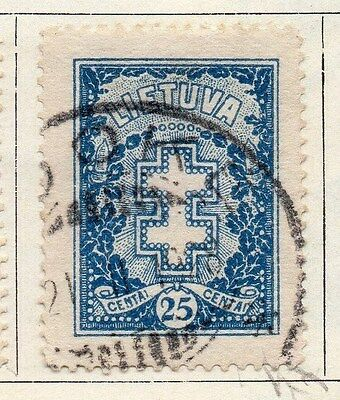 Lithuania 1926 Early Issue Fine Used 25c. 055506