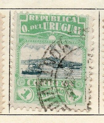 Uruguay 1919 Early Issue Fine Used 1c. 055455