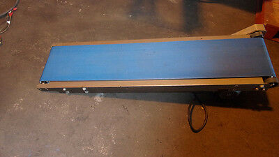 Belt Conveyor 10 3/4 inches wide x 54 inches long