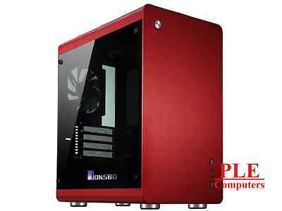 Jonsbo RM3 Red mATX Case w/Tempered Glass Side Panel[RM3.RD.W]