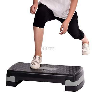 Home Exerciser Exercise Aerobic Step Fitness Yoga Gym Workout Stepper Board