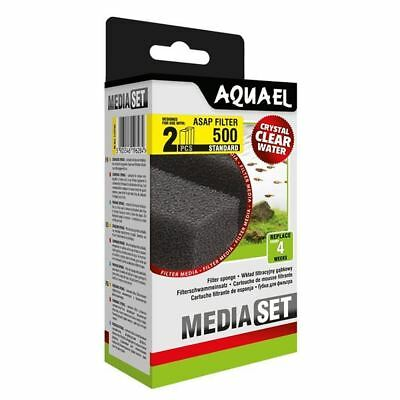 Aquael ASAP 500 Replacement Sponge Standard x2 Aquarium Media *GENUINE*