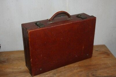 1960's Cheney English Leather Case Mock Croc Leather