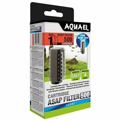 Aquael ASAP 500 Filter Cartridge with Carbomax x2 Aquarium Media