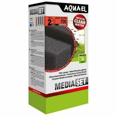 Aquael ASAP 700 Replacement Sponge with Carbomax x2 Aquarium Media *GENUINE*