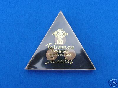 10MM TALISMAN PRO SNOOKER CUE TIP (1 TIP ONLY) - sold by coutts cues