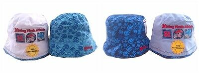 Disney Mickey Mouse Boys Toddler Reversible Summer Beach Holiday Sun Bucket Hat