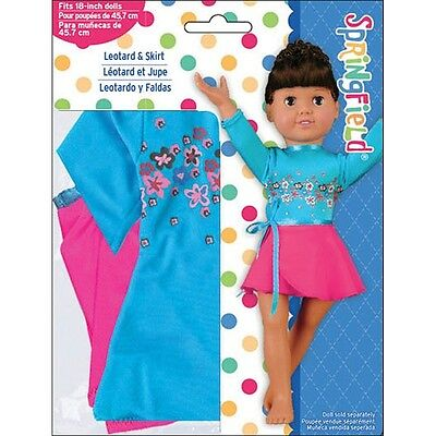 """Springfield Collection Fibre-Craft Abstract Floral Dress 18/"""" Doll Clothes"""
