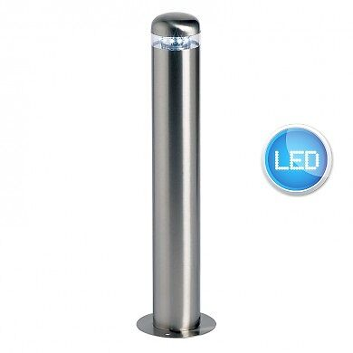 Polished Stainless Steel IP44 Garden Outdoor 500mm Post Light Low Energy LED