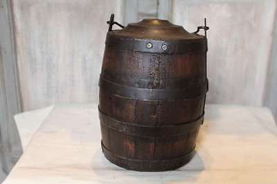 WINE ALSATIAN KEG - Oak and iron - end 19th - P323
